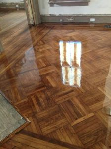 Beautifully restored floors by Glory Homes