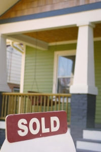 house and sold sign